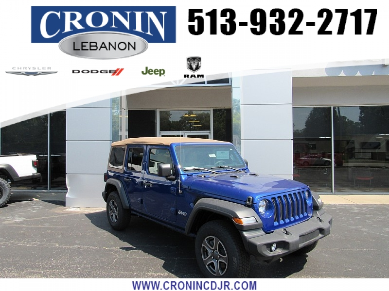 New 2019 JEEP Wrangler 4d SUV 4WD Sport S