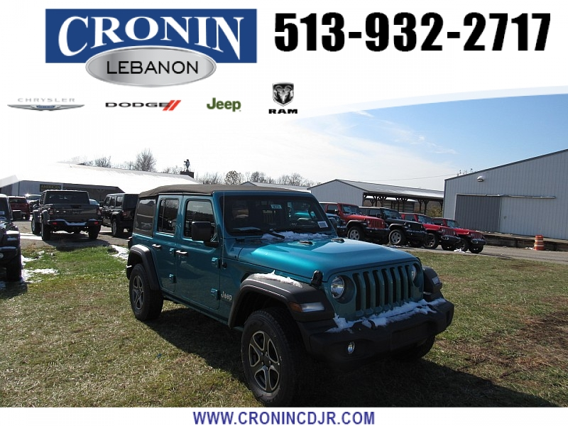 New 2020 JEEP Wrangler 4d SUV 4WD Sport S