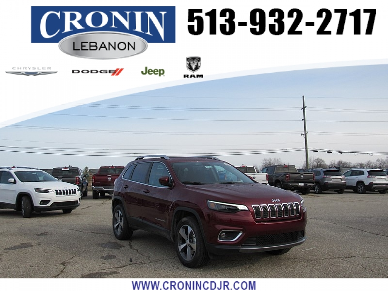 New 2020 JEEP Cherokee 4d SUV 4WD Limited 3.2L