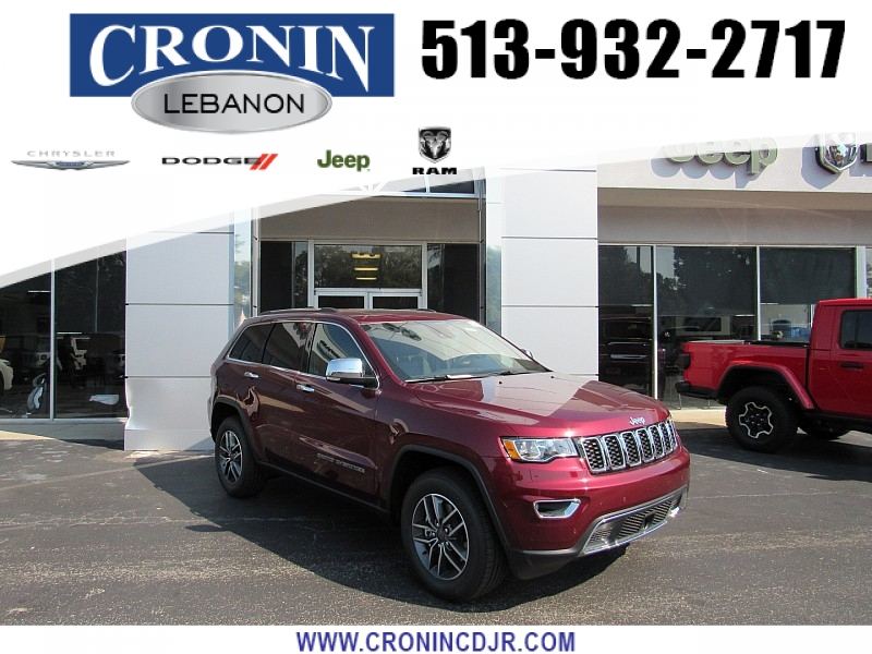 New 2019 JEEP Grand Cherokee 4d SUV 4WD Limited V8