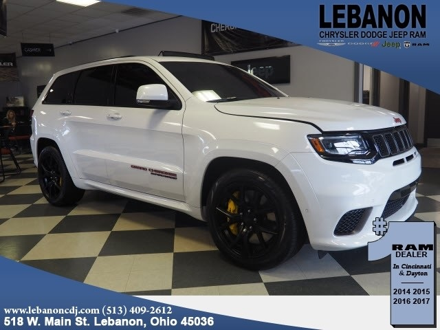 Certified Pre Owned 2018 Jeep Grand Cherokee Trackhawk