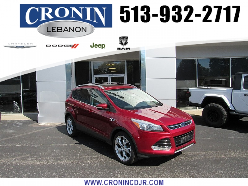 Pre-Owned 2015 Ford Escape 4d SUV 4WD Titanium