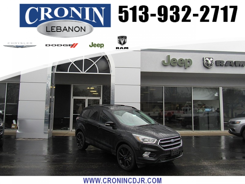 Pre-Owned 2017 Ford Escape 4d SUV 4WD Titanium