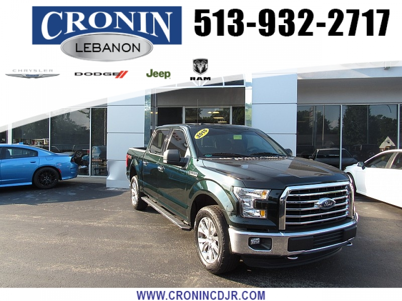 Pre-Owned 2015 Ford F150 4WD Supercrew XLT 5 1/2