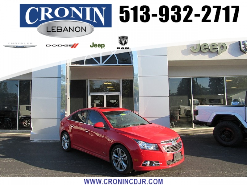 Pre-Owned 2014 Chevrolet Cruze 4d Sedan LTZ