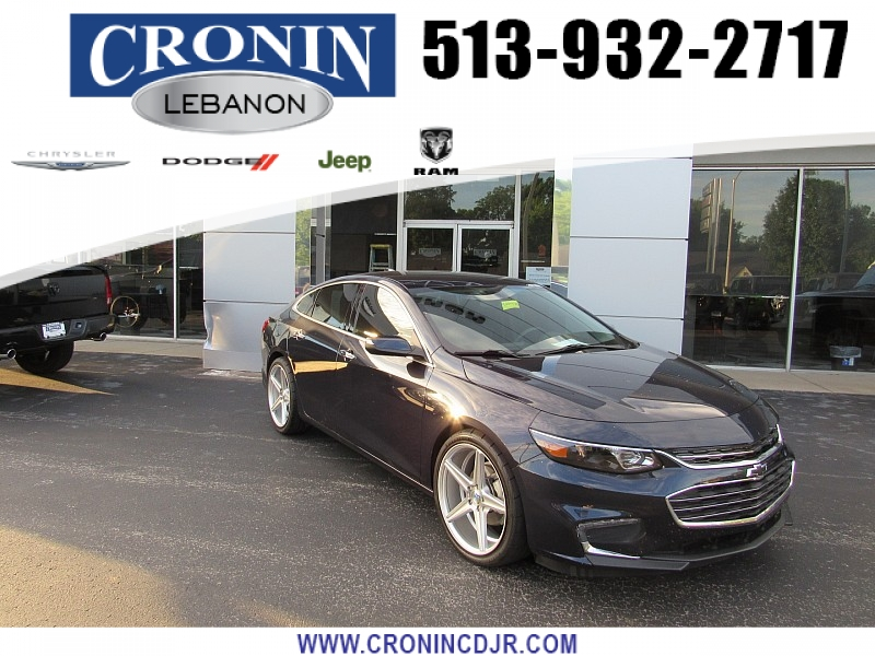Pre-Owned 2017 Chevrolet Malibu 4d Sedan Premier
