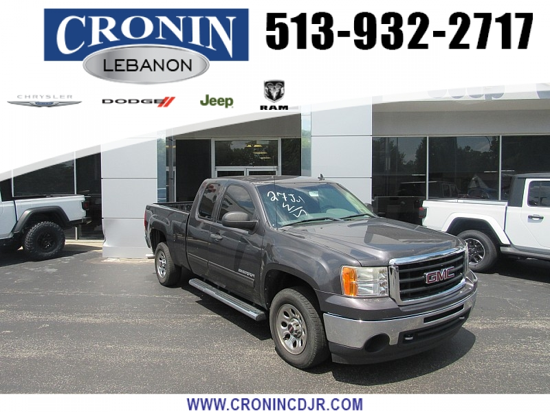 Pre-Owned 2010 GMC Sierra 1500 2WD Ext Cab SL