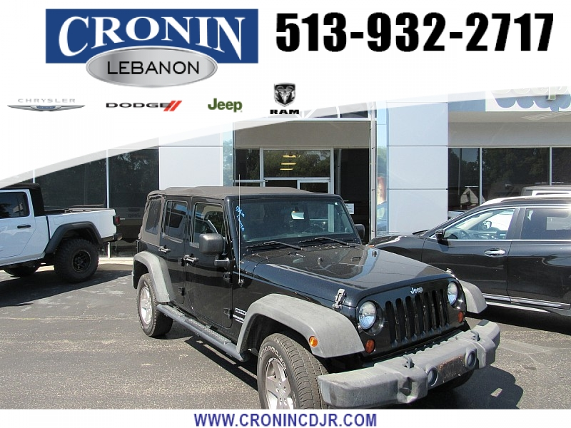 Pre-Owned 2011 Jeep Wrangler Unlimited 4d Convertible Sport