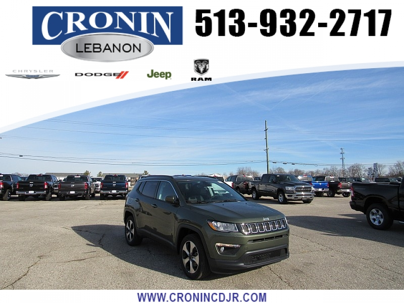 New 2020 JEEP Compass 4d SUV 4WD Latitude