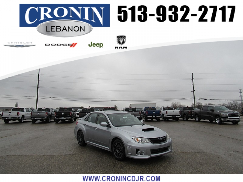 Pre-Owned 2012 Subaru Impreza WRX 4d Sedan Limited