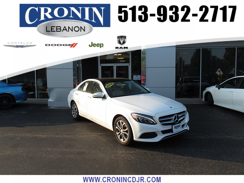 Pre-Owned 2016 Mercedes-Benz C-Class 4d Sedan C300 4matic