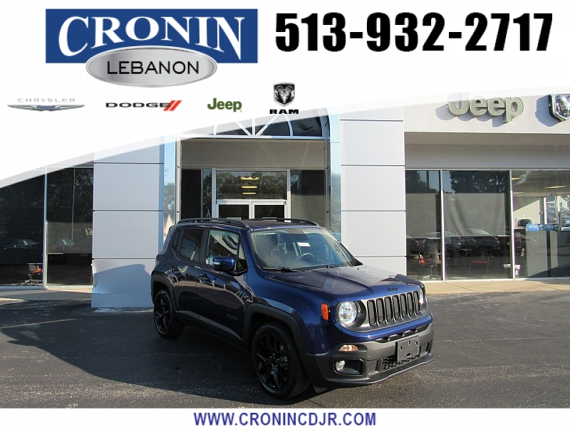 Pre-Owned 2017 Jeep Renegade 4d SUV FWD Latitude Altitude