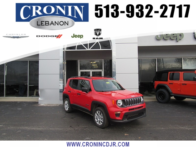 Pre-Owned 2019 Jeep Renegade 4d SUV 4WD Sport