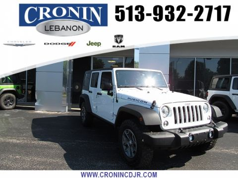 Pre-Owned 2017 Jeep Wrangler Unlimited 4d Convertible Rubicon