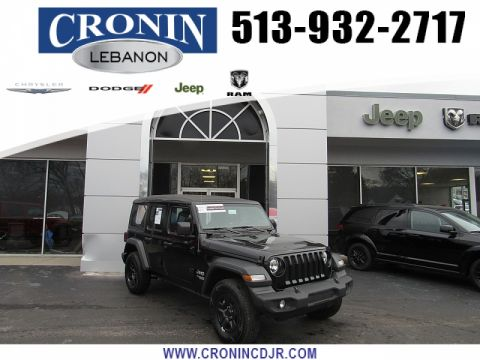 Pre-Owned 2018 Jeep Wrangler Unlimited 4d SUV 4WD Sport