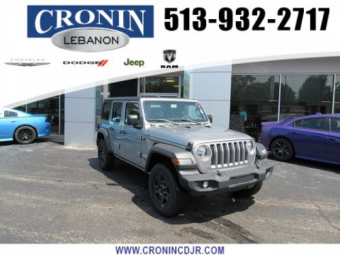 New 2018 JEEP Wrangler 4d SUV 4WD Sport