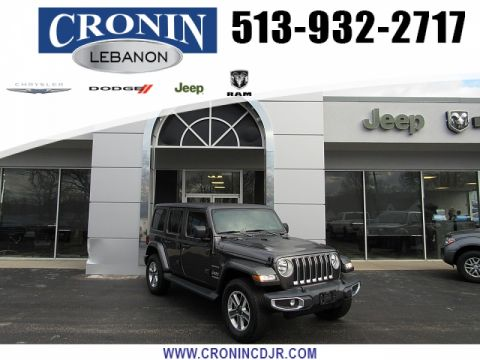 Pre-Owned 2018 Jeep Wrangler Unlimited 4d SUV 4WD Sahara
