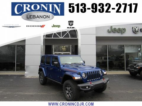 New 2020 JEEP Wrangler 4d SUV 4WD Rubicon