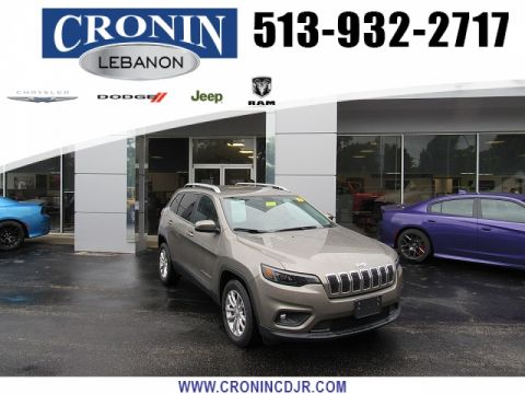 Pre-Owned 2019 Jeep Cherokee 4d SUV FWD Latitude 2.4L