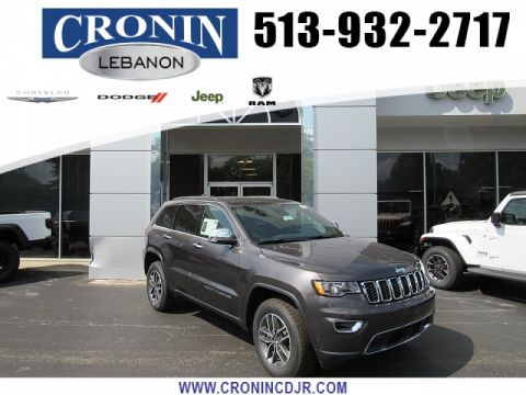 New 2019 JEEP Grand Cherokee 4d SUV 4WD Limited V6