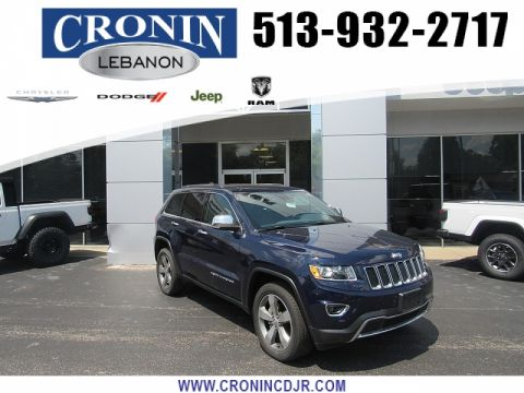 Pre-Owned 2016 Jeep Grand Cherokee 4d SUV 4WD Limited