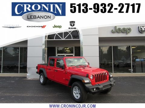 New 2020 JEEP Gladiator Crew Cab Sport S
