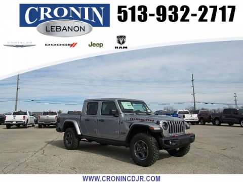 New 2020 JEEP Gladiator Crew Cab Rubicon