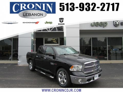 Pre-Owned 2015 Ram 1500 4WD Crew Cab Big Horn