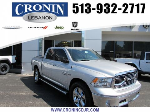 Pre-Owned 2017 Ram 1500 4WD Crew Cab Big Horn