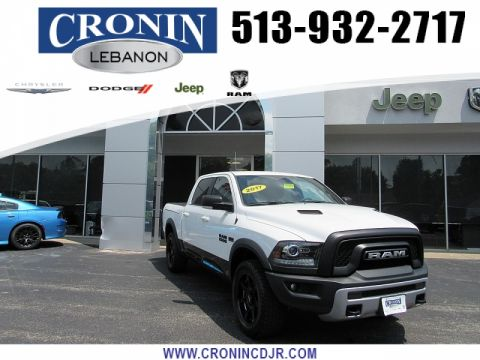 Pre-Owned 2017 Ram 1500 4WD Crew Cab Rebel