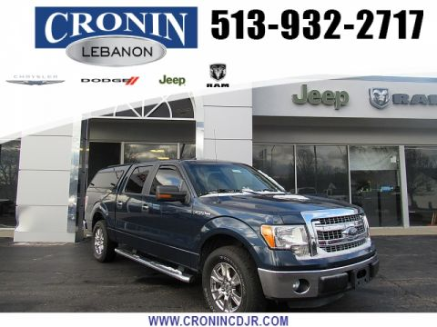 Pre-Owned 2013 Ford F150 2WD Supercrew XLT 5 1/2