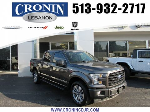 Pre-Owned 2017 Ford F150 4WD SuperCrew XL STX 5 1/2