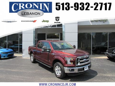 Pre-Owned 2016 Ford F150 4WD SuperCrew XLT 5 1/2