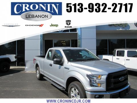 Pre-Owned 2016 Ford F150 4WD SuperCab XL