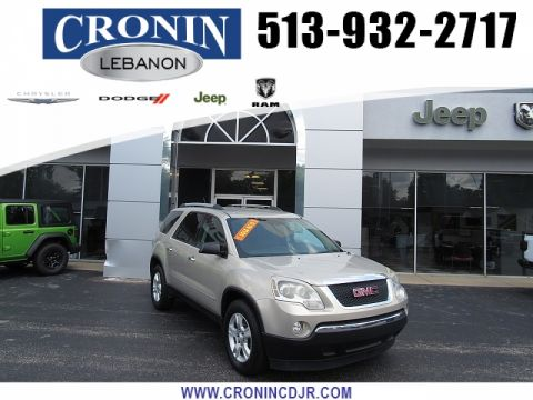 Pre-Owned 2010 GMC Acadia 4d SUV FWD SLE