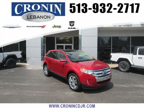 Pre-Owned 2012 Ford Edge 4d SUV AWD Limited