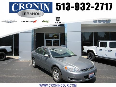 Pre-Owned 2007 Chevrolet Impala 4d Sedan LT 3.5L