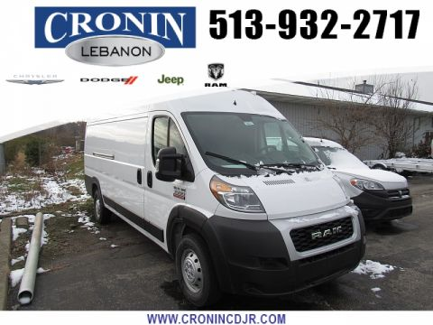 "New 2019 RAM ProMaster 3500 High Roof Ext Van 159"" WB"