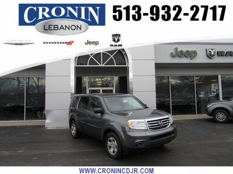 Pre-Owned 2013 Honda Pilot 4d SUV 4WD LX