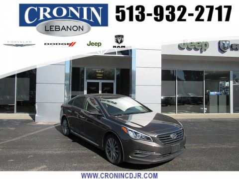 Pre-Owned 2015 Hyundai Sonata 4d Sedan Limited