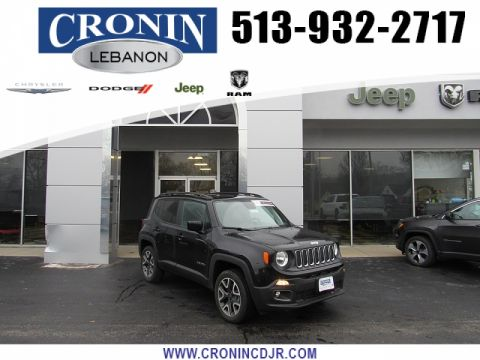 Pre-Owned 2018 Jeep Renegade 4d SUV 4WD Latitude