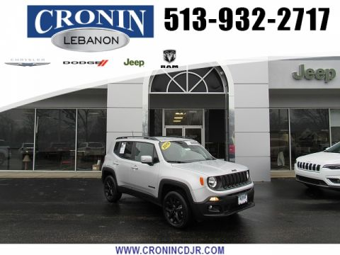 Pre-Owned 2018 Jeep Renegade 4d SUV 4WD Latitude Altitude