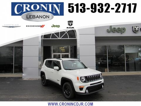 New 2020 JEEP Renegade 4d SUV 4WD Latitude